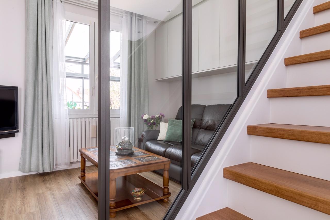 Escaliers – Sainte-Geneviève-des-Bois (91)